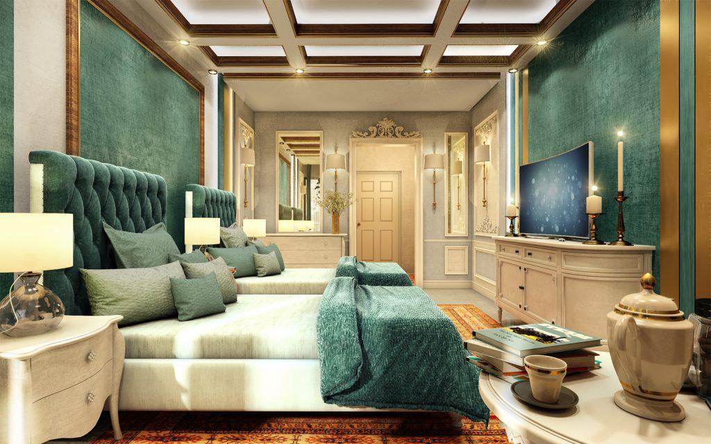طراحی هتل