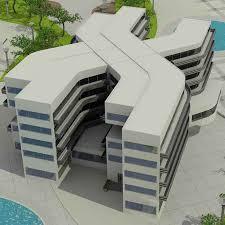 معماری هتل در ارومیه